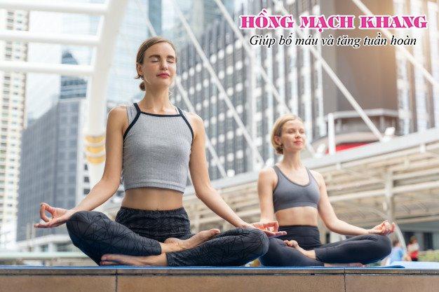 Tập yoga giúp hỗ trợ điều trị tuần hoàn máu kém hiệu quả